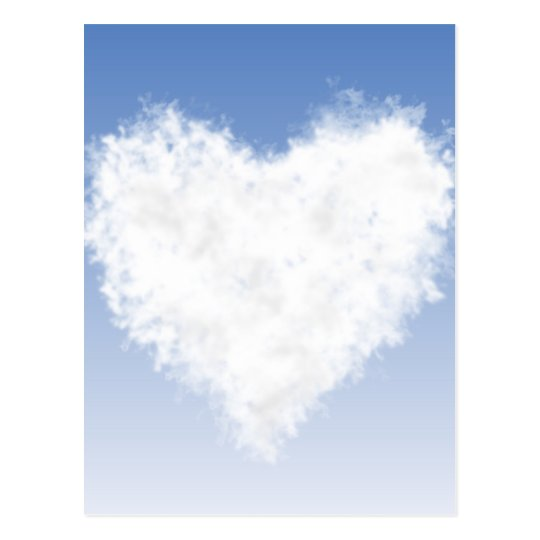 Heart Cloud Postcard