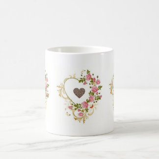 Heart Coffee Bean Shaped Mug