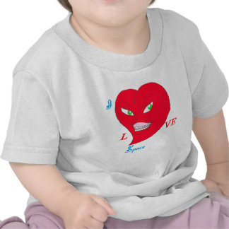 HEART COILS SPACE.png T Shirts
