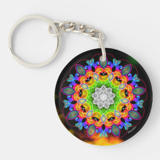 Heart Connection/Celebrate Change Key Ring