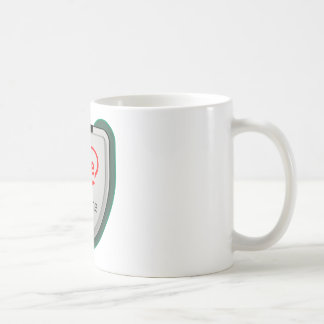 Heart CPU Basic White Mug