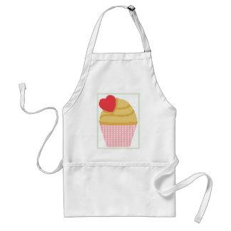 heart cupcake standard apron