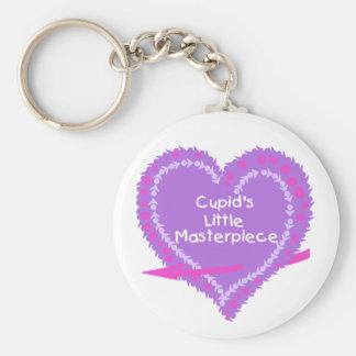 Heart Cupid's Little Masterpiece Keychains