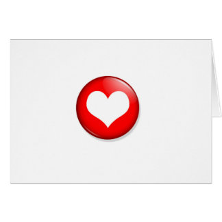 Heart Cut Out Greeting Card