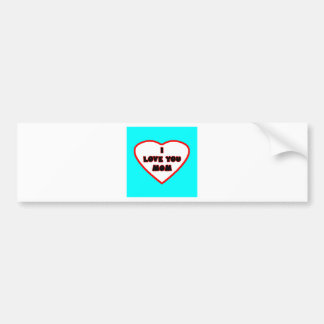 Heart Cyan Transp Filled The MUSEUM Zazzle Gifts Bumper Stickers