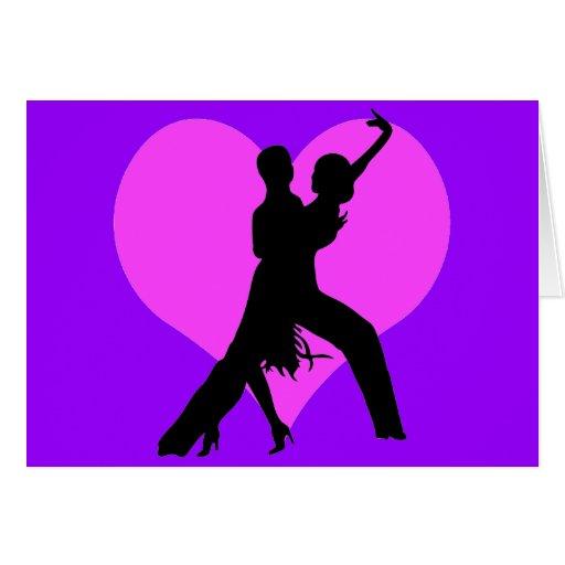 Heart dance cards