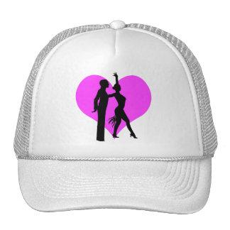 Heart dancers mesh hats
