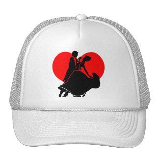Heart dancers hats