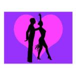 Heart dancers postcards