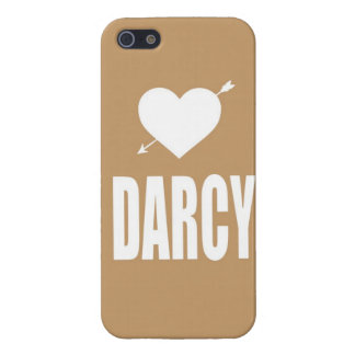 Heart Darcy tan iphone case iPhone 5 Cover