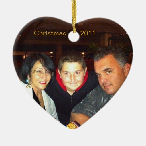 heart christmas tree ornaments