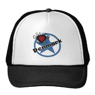 Heart Denmark Hats