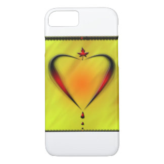 heart design on covercase of iphone iPhone 7 case