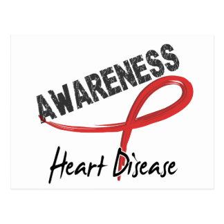 Heart Disease Awareness 3 Postcard