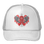 Heart Disease Awareness Cool Wings Trucker Hat