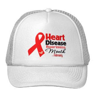 Heart Disease Awareness Month Mesh Hats