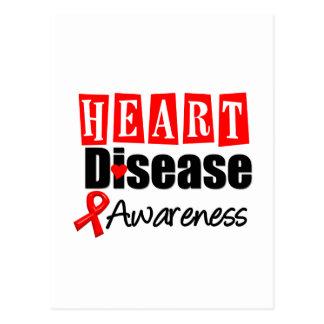 Heart Disease Awareness Postcard