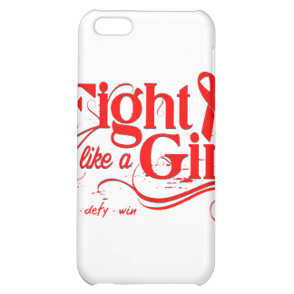 Heart Disease Fight Like A Girl Elegant Cover For iPhone 5C