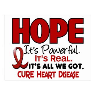 Heart Disease HOPE 1 Postcard