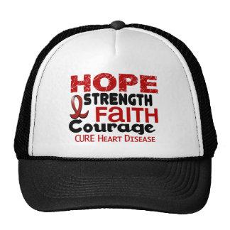 Heart Disease HOPE 3 Trucker Hat