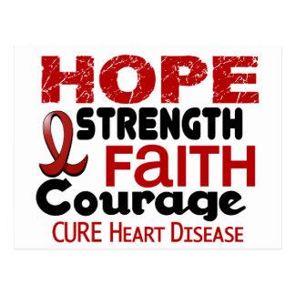 Heart Disease HOPE 3 Postcard
