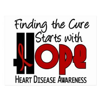 Heart Disease HOPE 4 Postcard