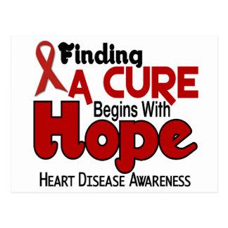 Heart Disease HOPE 5 Post Cards