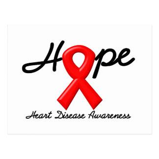 Heart Disease HOPE Postcard
