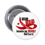 Heart Disease I Wear Red For ME 33 Pin
