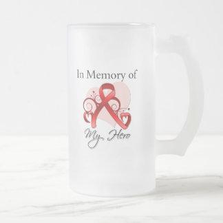 Heart Disease In Memory of My Hero Coffee Mug