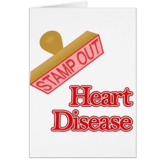 Heart Disease Note Card