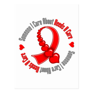 Heart Disease Someone I Care About Needs A Cure Postcard