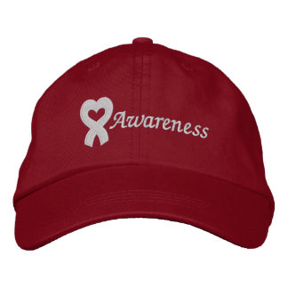 Heart Disease Survivor Embroidered Baseball Cap