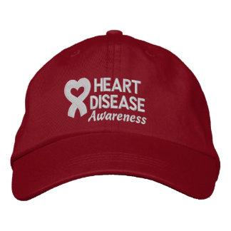 Heart Disease Survivor Embroidered Hats