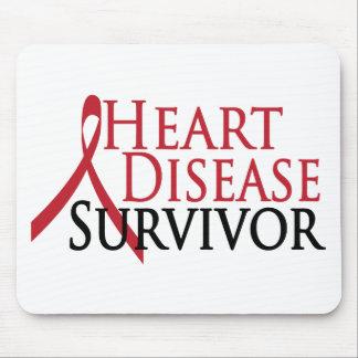 Heart Disease Survivor Mouse Mat