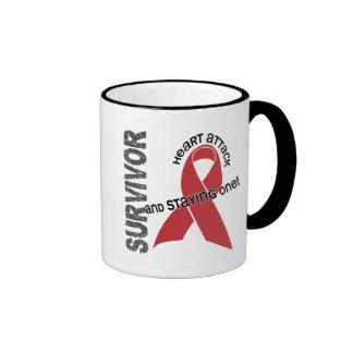 Heart Disease Survivor Coffee Mug