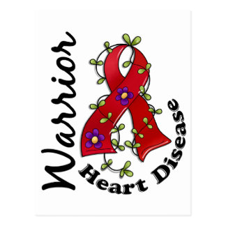 Heart Disease Warrior 15 Postcard