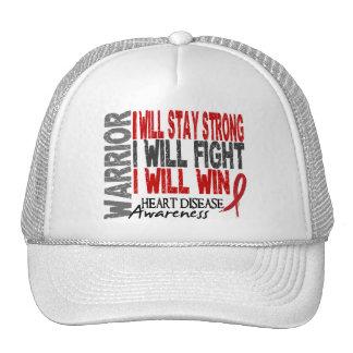 Heart Disease Warrior Hat