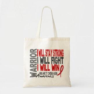 Heart Disease Warrior Tote Bag