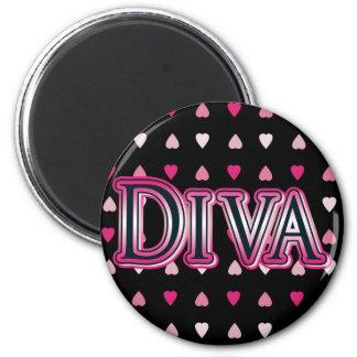 Heart Diva Magnet
