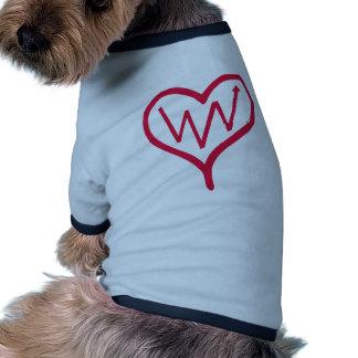 Heart Dog Tshirt