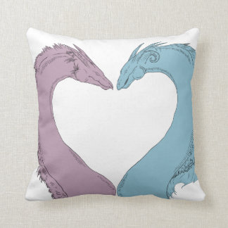 Heart Dragons Cushion