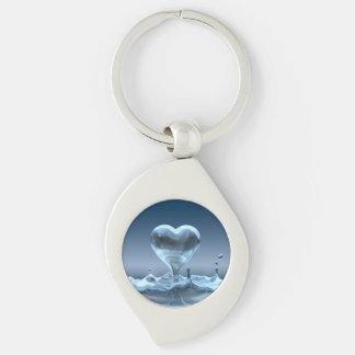 Heart Drop Key Chain