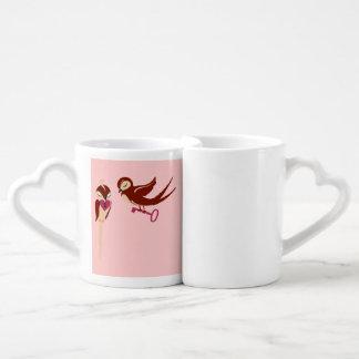 Heart drops lovers mug