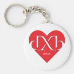 Heart Dubai Keychains