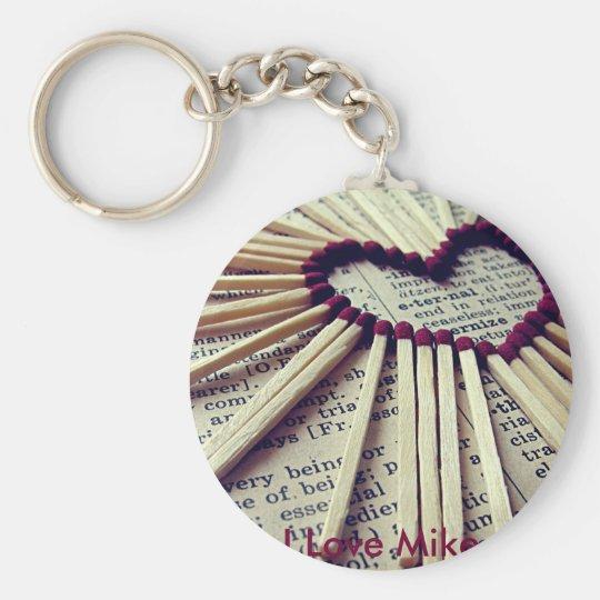Heart Eternal Love Key Ring