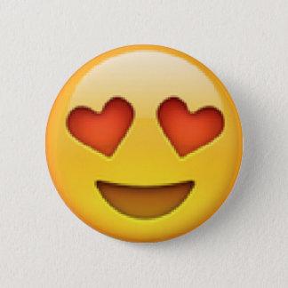 Heart Eyes Emoji Button