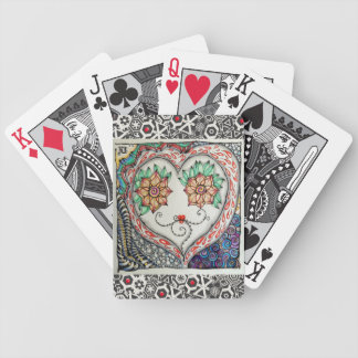 Heart Face Playing Cards