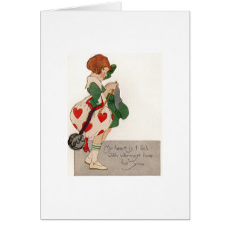 Heart Filled with Love Greeting Card