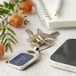 Heart Finland Keyring, Finnish, Finn Key Ring